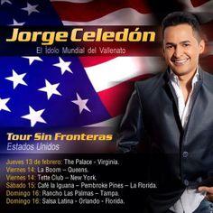 Jorge Celedon comienza gira de conciertos en Estados Unidos www.vivalaradiotelevision.com
