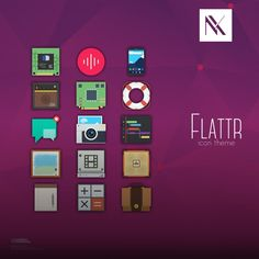 Flattr Is the Icon Pack with the Flattest Icons for Linux Systems – Gallery