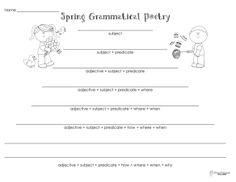 Printables Free Printable Worksheets For Teachers alligators on scooters questions vs statements free printable squarehead teachers spring grammatical poetry printable