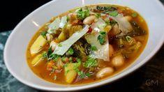 Toskánská polévka minestrone