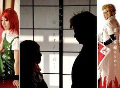 Naruto Shippudn - Kushina & Minato - Cosplay (published by rin on Cure WorldCosplay)