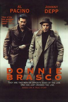 Top 10 Most Talked-About Crime Movies You Can See Donnie Brasco – Johnny Depp, Al Pacino – A true to life story of FBI agent Joseph Pistone's undercover work into the mob business. Gripping and poignant. Mafia, Love Movie, Movie Tv, Movie List, Gangster Movies, Movie Archive, Bon Film, Johnny Depp Movies, Al Pacino