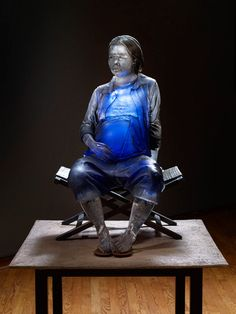 Glass sculpture by Oben Abright  GGN