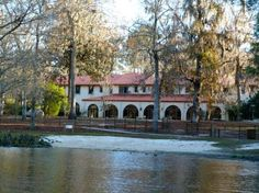 Wakulla Springs Lodge Florida Built By A Dupont Heir In The Mediterranean