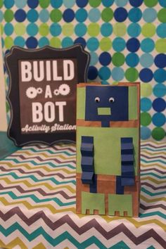 Robot Birthday Party Ideas | Photo 2 of 24 | Catch My Party