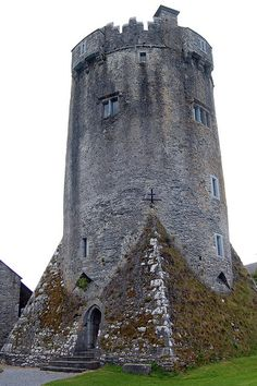 Newtown Castle is a 16th-century tower house, located close to the village of Ballyvaughan within the Burren area of County Clare, Ireland. Uniquely for a tower house of its type in Ireland, Newtown Castle is round but rises from a square pyramidical base. It is today part of the Burren College of Art.