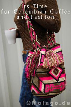 Wayuu Tasche - handgemacht aus Lateinamerika www.molago.de