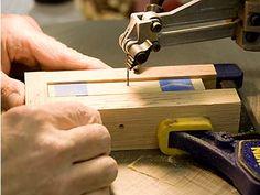 Making Swirly Turning Blanks - NM Woodturners