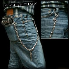 Rakuten: wallet chain German Silver Jeans wallet key chain Skull and Cross- Shopping Japanese products from Japan