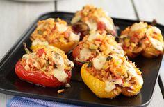 Easy Mediterranean stuffed peppers recipe - goodtoknow