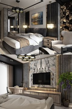 Home Interior Salas .Home Interior Salas Luxury Bedroom Design, Hotel Room Design, Master Bedroom Interior, Bedroom Bed Design, Luxury Interior Design, Home Decor Bedroom, Modern Luxury Bedroom, Luxury Decor, Dispositions Chambre