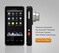 Could just be the future of the digital #camera. Polaroid's #Android Smart camera/mobile