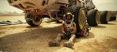 """Seul sur Mars : """"pirate de l'espace"""" !"""
