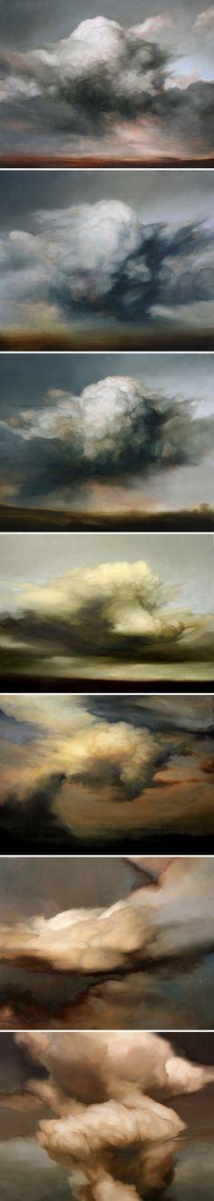 Ambera Wellmann. Oil on wood.