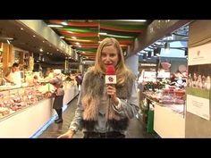 Maria Leon en Mercado SanAnton en Madrid