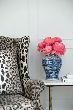 Leopard & Chinoiserie