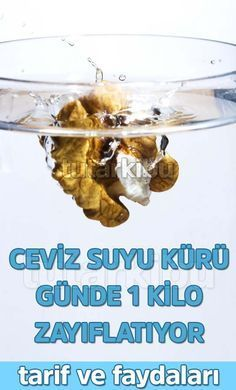 Günde 1 Kilo Verdiren Ceviz Suyu Recipe for 1 kg weight loss in 1 day Hair can lead to compassion Healthy Sport, Fitness Diet, Health Fitness, Recipe For 1, Recipe Image, Sports Food, Health Cleanse, Diet And Nutrition, Loosing Weight