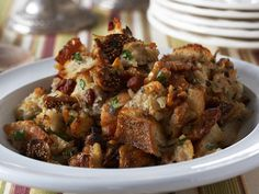 Bring on the delicate figs, smoky pancetta, and omega 3-rich walnuts. This sophisticated stuffing could make your Thanksgiving dinner extra-special.  Recipe: Bread Stuffing with Pancetta and Figs   - CountryLiving.com