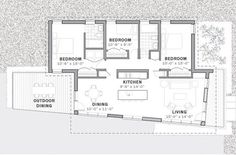 Meadowlark House by Steven Learner Wins Chain of Eco-Homes Competition : TreeHugger