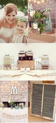 #wedding #rustic