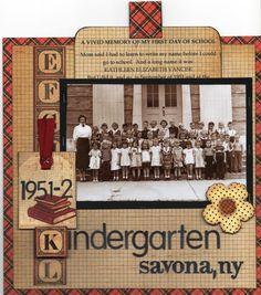 Kindergarten 1951 - Graphic 45 ABC