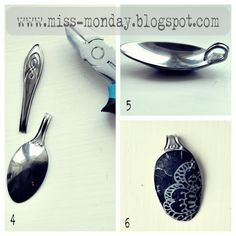 spoon pendant idea. brilliant!