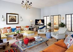 Find Full-Designed Home Interior with Best Eclectic Home Interior Design for A Comfortable Living Space : Eclectic Style New York Apartment ...