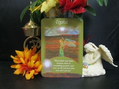 """11/10/2014 - Today's daily Angel Card reading came from the deck, """"Messages from your Angels Oracle Cards"""". The card that I pulled today came up: """"Crystal – Have faith and hope, because there is something positive and new on the horizon that you can't yet see""""  Today the angels are telling us to have faith, for there are positive things coming. How many of us are feeling like nothing is happening and every time we try to push ahead... To read more, click…"""