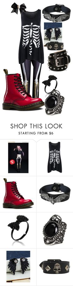 """""""Penny"""" by jubileex-girl on Polyvore featuring BADINKA, Dr. Martens, WithChic and Barbara Bui"""