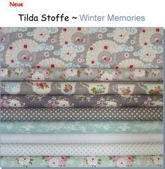 "TILDA Stoffe ""Winter Memories"""