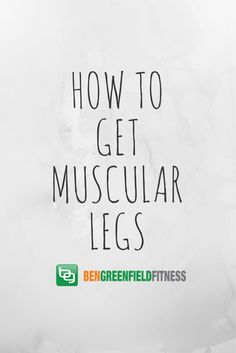 How To Get Muscular Legs Gut Inflammation, Muscular Legs, Ice Baths, Endurance Training, Do It Right, Stem Cells, Fitness Diet, Hiit, Workouts