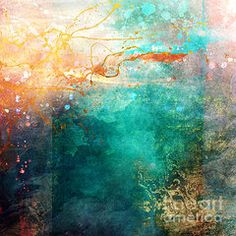Abstract Art - Ecstatic Variant 1 by Aimee Stewart