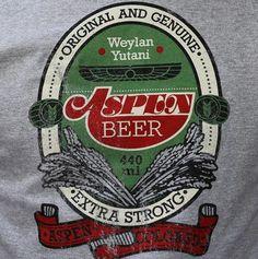 Weylan Yutani Aspen Beer - Grey Marl Regular T-shirt