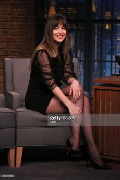 #DakotaJohnson on #LateNightSeth