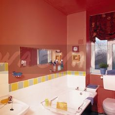 90s bathroom