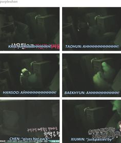 Levelled up the respect for Minseok oppa. A true hyung!!  EXO Xiumin Chen FTW!! Exo's showtime ep 10