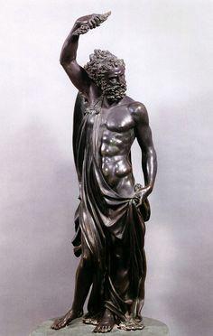 Jupiter.  1545-53.Benvenuto Cellini. Italian 1500-1571. bronze.http://hadrian6.tumblr.com
