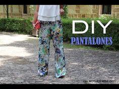 DIY Costura: Pantalones pata de elefante (patrón gratis incluido) | Manualidades