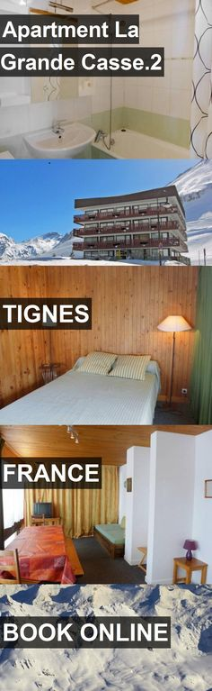Apartment La Grande Casse.2 in Tignes, France. For more information, photos, reviews and best prices please follow the link. #France #Tignes #travel #vacation #apartment