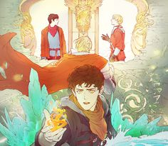 Fanart: The Emrys Chronicles - mushroomtale - Merlin (TV) [Archive of Our Own]