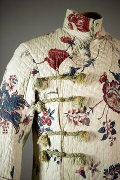Banyan, Worn By George IV As Prince Of Wales. 1780s, at the RISD Museum.