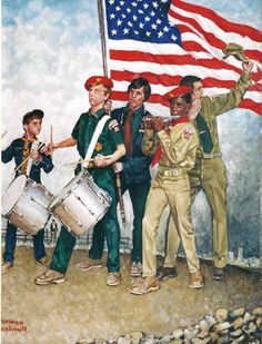 Norman Rockwell ... all American!
