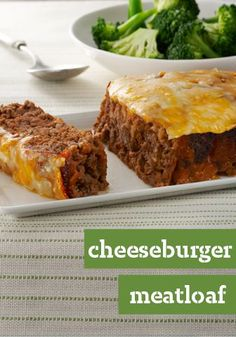 Quick-Fix Cheeseburger Meatloaf – Meatloaf is especially delicious when it's topped with the makings of a cheeseburger—melty cheese and ketchup. This combo is sure to be a hit on your dinner table.