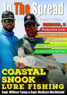 Coastal snook fishing with lures from In The Spread