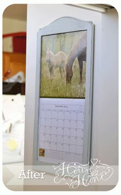 calendar holder revamp