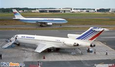 Air France Boeing 727-228. It's 727 Day!!