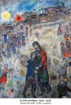 Marc Chagall - 26 juin au 1 Novembre 2016 - Aux Capucins / Landerneau - C'est un message d'espoir et de liberté qui marque les vingt dernières années de Marc Chagall. Il délivre un message ultime où il réinvente avec une puissance poétique les liens qu'il a toujours entretenus avec les grands thèmes de la littérature;