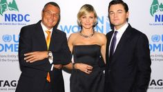 #Tag Heuer brand ambassadors and Hollywood superstars, #Leo Dicaprio and #Cameron Diaz came together to raise money for charity.