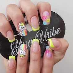 Pink Nails, My Nails, Hello Nails, Semi Permanente, Super Nails, Nail Spa, Trendy Nails, Manicure, Nail Designs