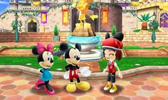 """In """"Disney Magical World,"""" players will have the opportunity to choose from a variety of characters that they can customize with Disney-themed outfits and accessories. Description from dis411.net. I searched for this on bing.com/images"""